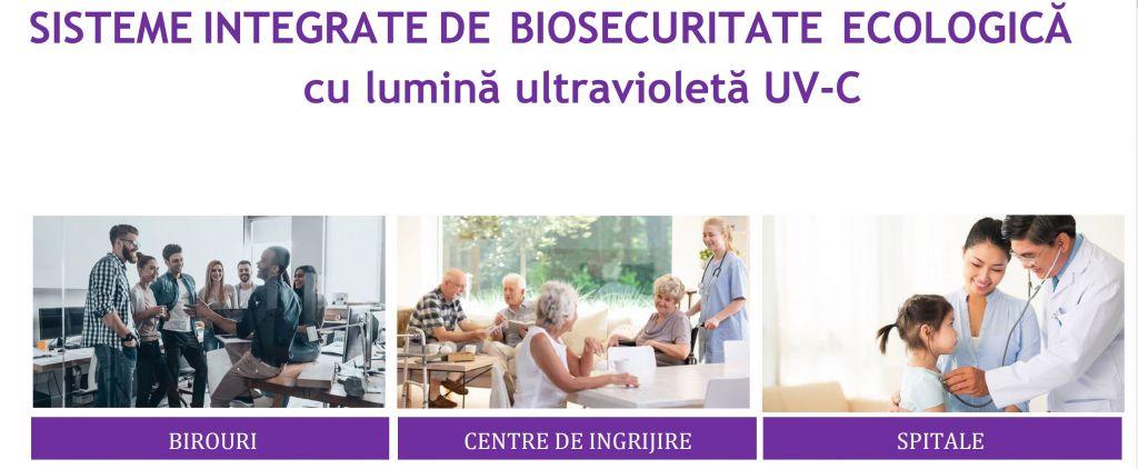 Sisteme de biosecuritate uvc - Galerie COVID-19
